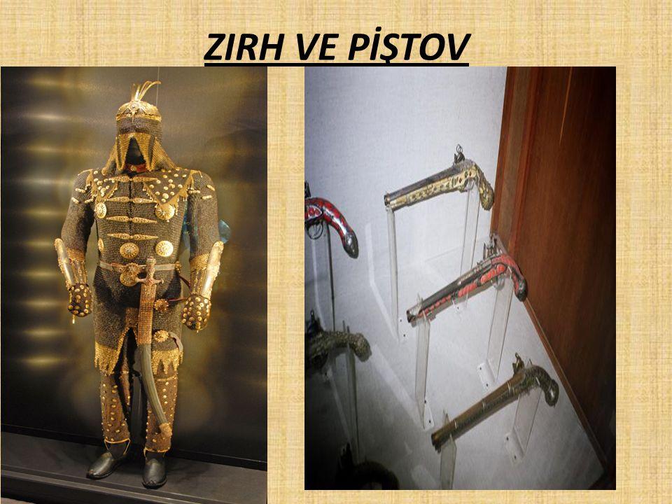 ZIRH VE PİŞTOV