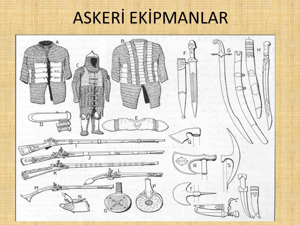 ASKERİ EKİPMANLAR