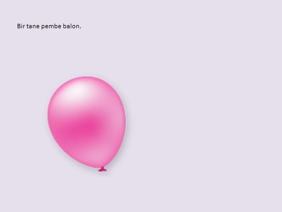 Birbirinin aynısı iki balon.