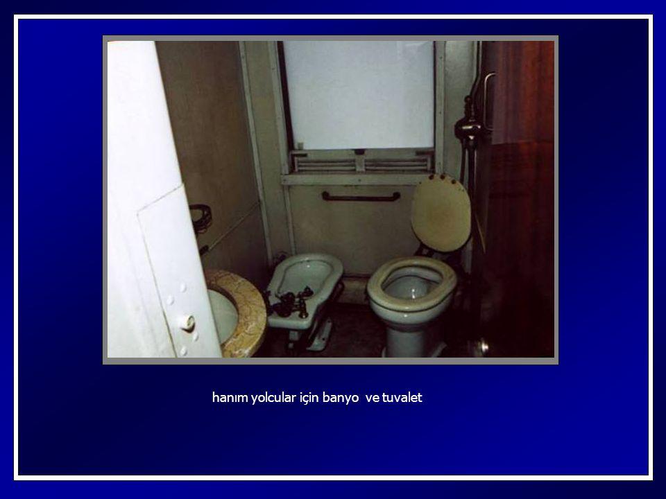 kullandığı banyo ve tuvaleti
