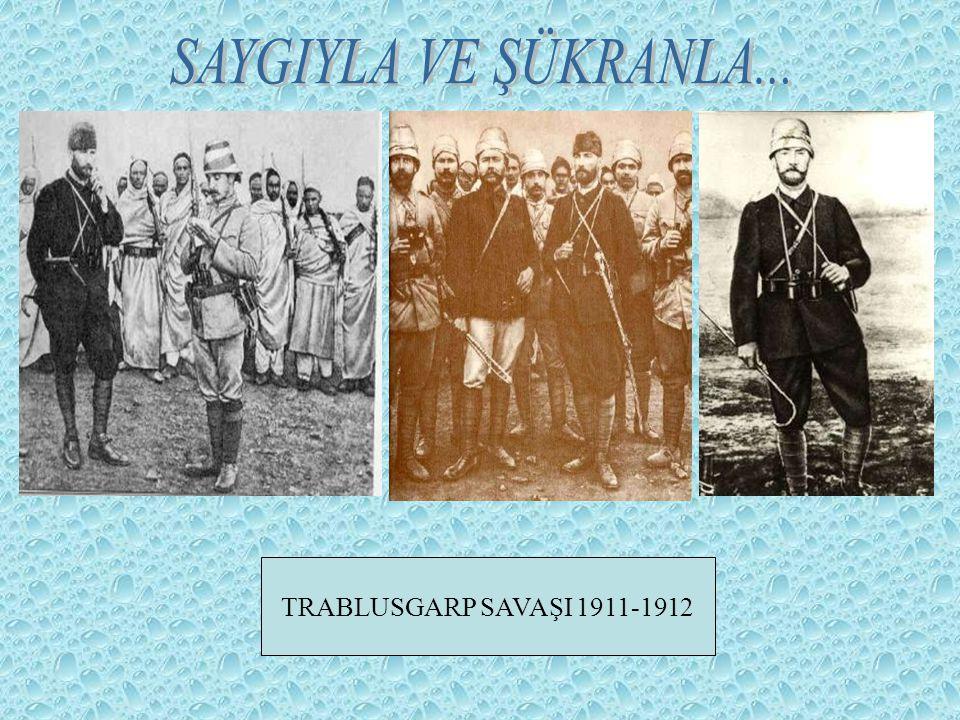 TRABLUSGARP SAVAŞI 1911-1912