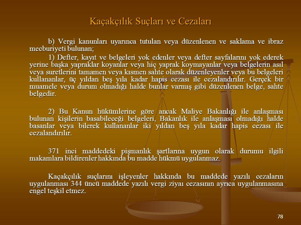 79 Vergi Cezalarının Ödenme Zamanı (368) Vergi cezaları: 1.