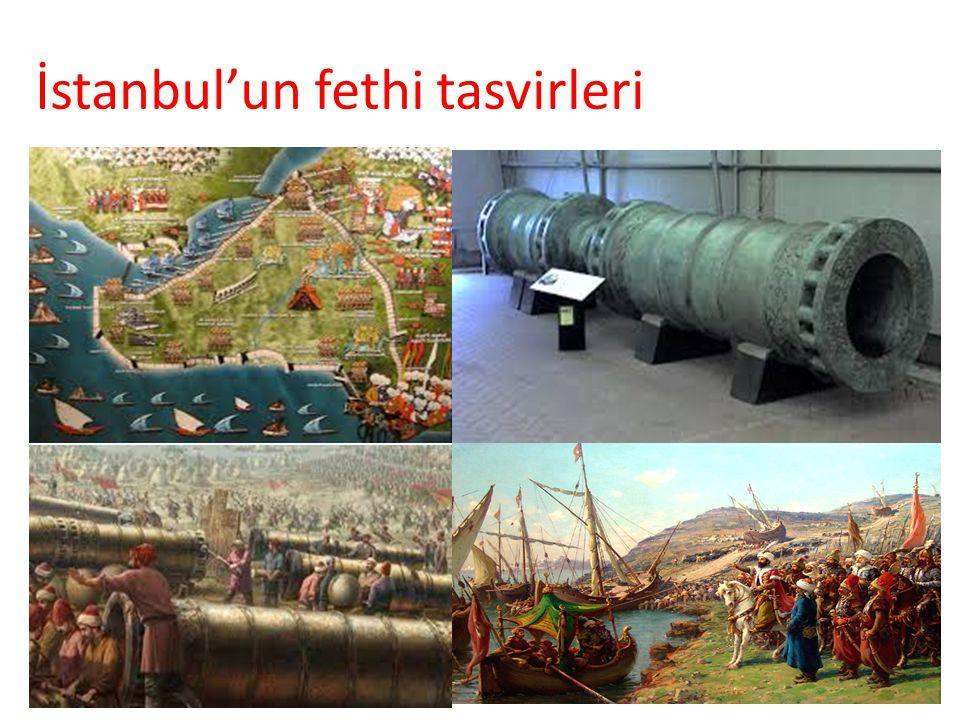 İstanbul'un fethi tasvirleri