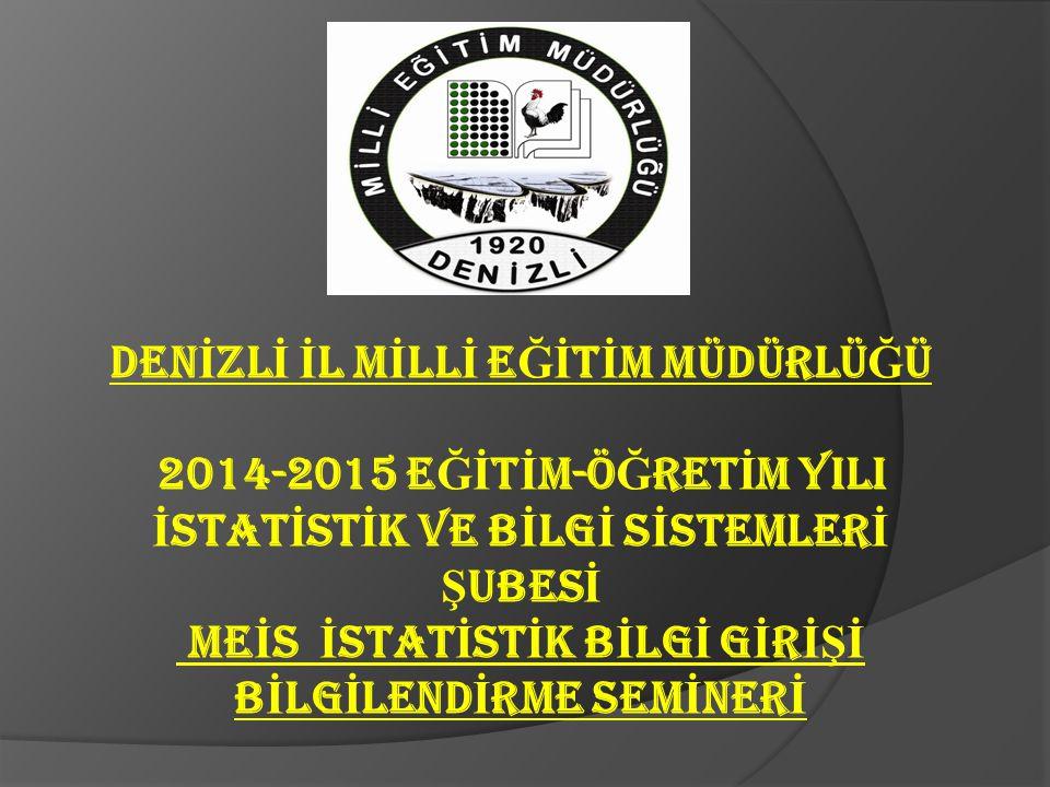 Resmi, özel İlk ve Ortaokullar Ortaöğretim ve Tüm Kurumların bünyelerindeki Anasınıfları bilgi girişlerini E-OKUL MODÜLÜ http://e-okul.meb.gov.tr 'den yapacaklar.