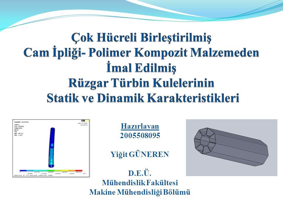 Hazırlayan 2005508095 Yiğit GÜNEREN D.E.Ü. Mühendislik Fakültesi Makine Mühendisliği Bölümü