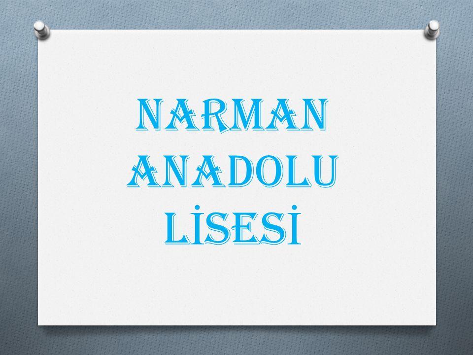 NARMAN ANADOLU L İ SES İ