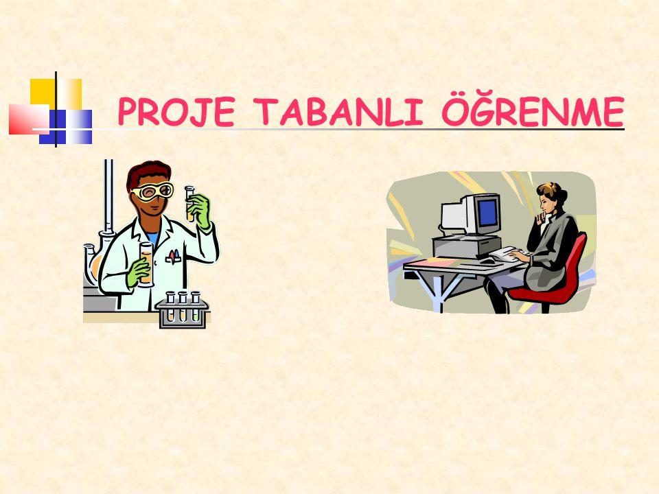 Proje tabanlı öğrenme, öğrenci merkezli bir öğretim modelidir.