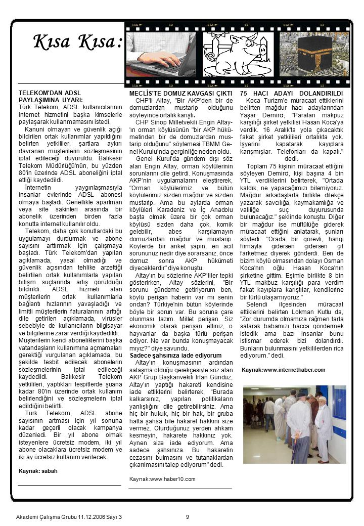 9 MECLİS'TE DOMUZ KAVGASI ÇIKTI CHP'li Altay,