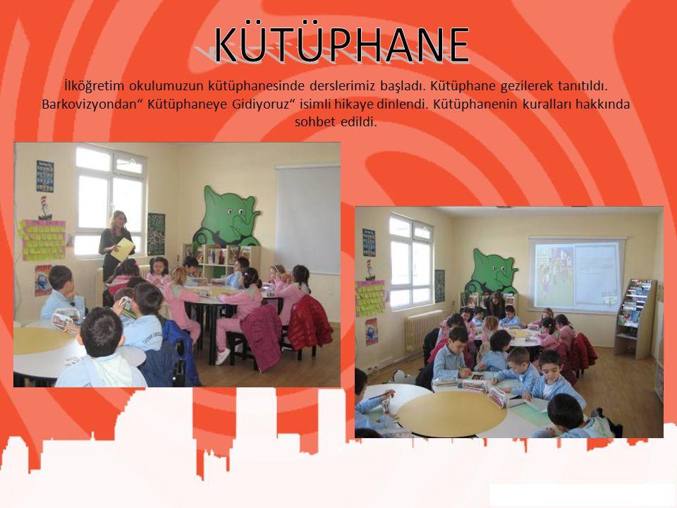 İlköğretim okulumuzun kütüphanesinde derslerimiz başladı.
