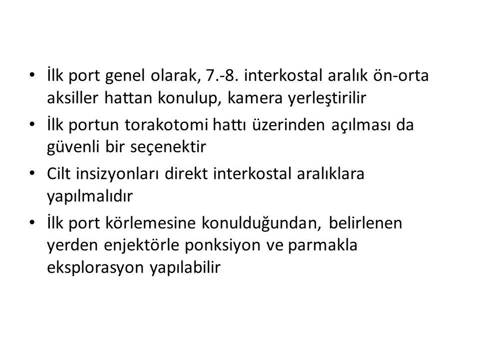 İlk port genel olarak, 7.-8.