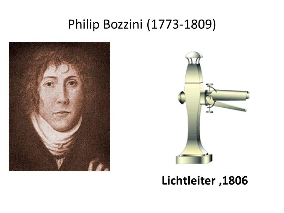 Philip Bozzini (1773-1809) Lichtleiter,1806