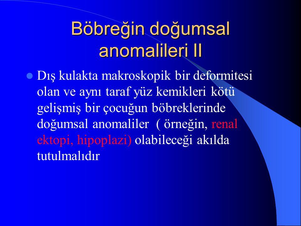 Erişkin Tip polikistik Böbrek Hastalığı I Otozomal dominant geçişlidir.