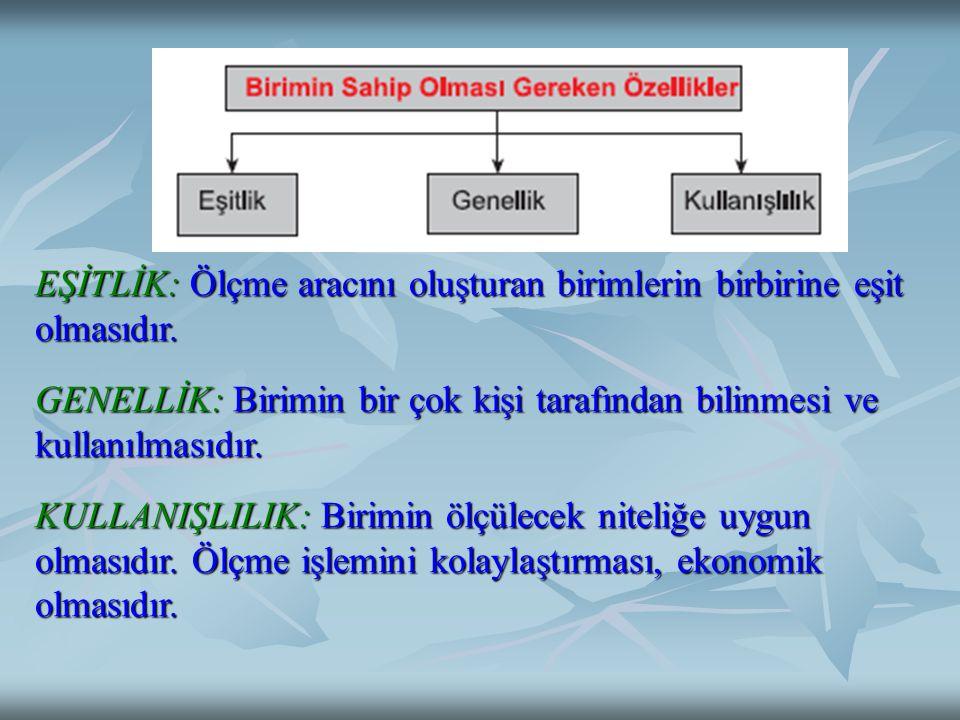 3- ÖLÇÜT Ölçme sonuçlarının anlamlandırılmasında kullanılan ve bireyler hakkında karar vermemizi sağlayan belirlenmiş kurallar veya standartlardır.