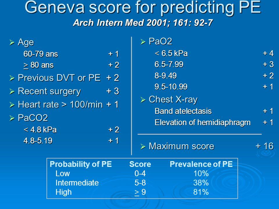 -Klinik olarak düşük olasılıklı akciğer embolisi tanısı konmuş ve yüksek olasılıklı V/Q saptanan olgularda anjiografi ile kanıtlanmış akciğer embolisi