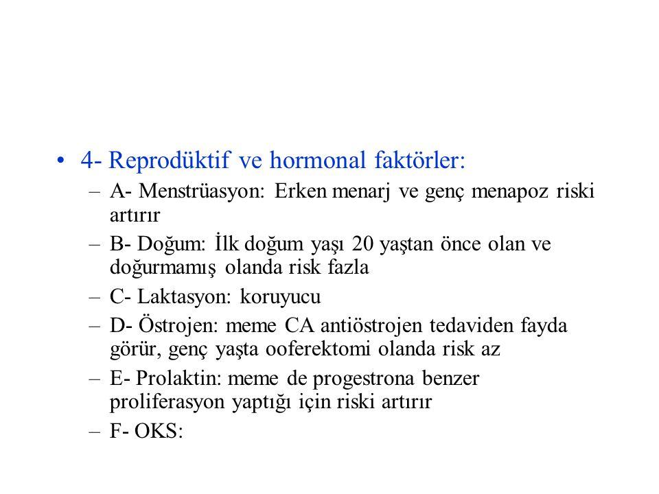 5- Genetik ve Familyal Durum: 1.
