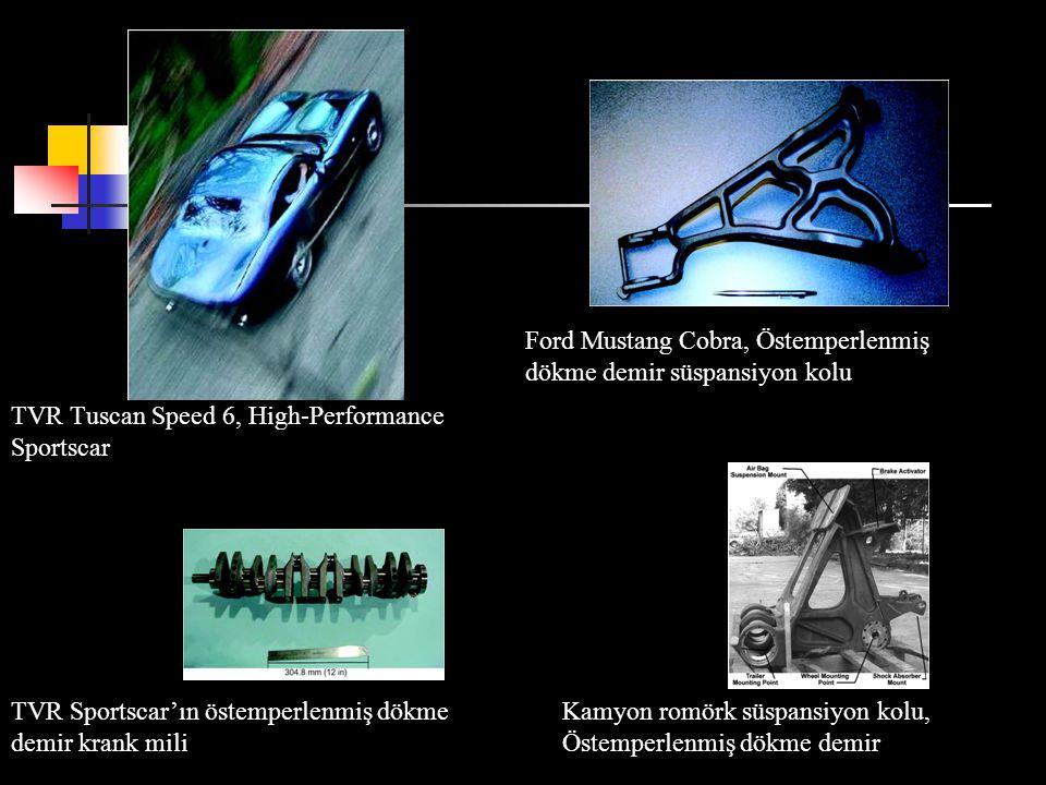 TVR Tuscan Speed 6, High-Performance Sportscar Ford Mustang Cobra, Östemperlenmiş dökme demir süspansiyon kolu Kamyon romörk süspansiyon kolu, Östempe