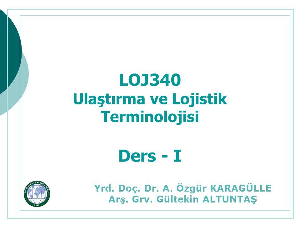 Ulaştırma ve Lojistik Terminolojisi – Ders İçeriği  Karayolu Taşımacılığı  Havayolu Taşımacılığı  Denizyolu Taşımacılığı  Demiryolu Taşımacılığı  Ödev Sunumları