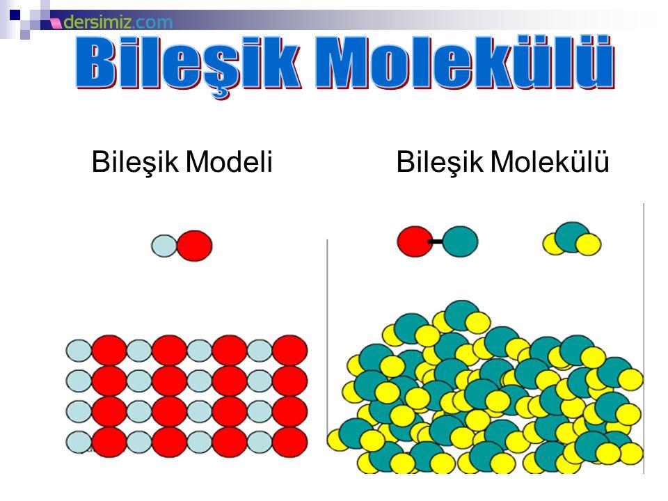 Bileşik Modeli Bileşik Molekülü