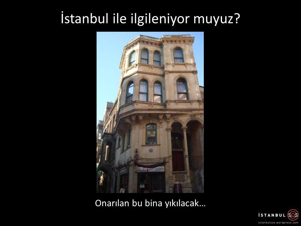 İstanbul Boğazı Karayolu Tüp Geçişi Tarihi Yarımada çıkışı İstanbul'a saygı duyuyor muyuz?