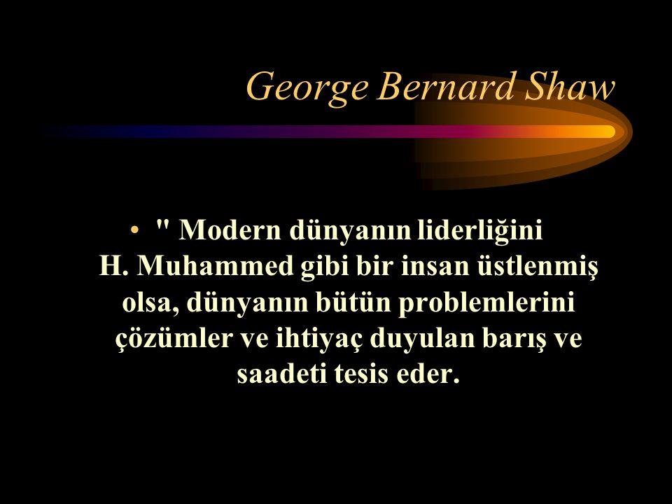 George Bernard Shaw Modern dünyanın liderliğini H.