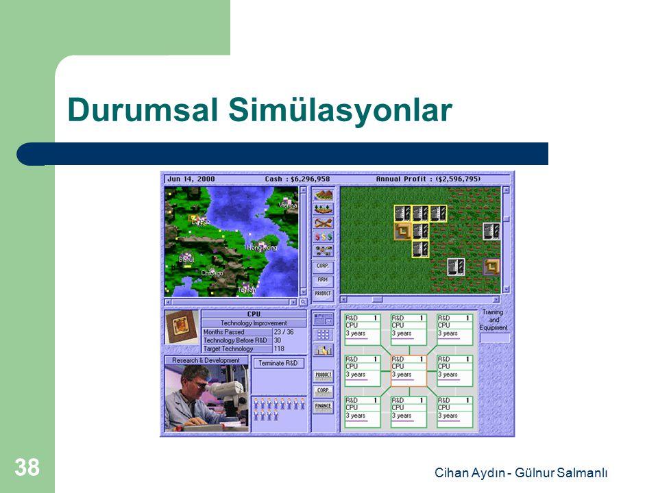 Cihan Aydın - Gülnur Salmanlı 38 Durumsal Simülasyonlar