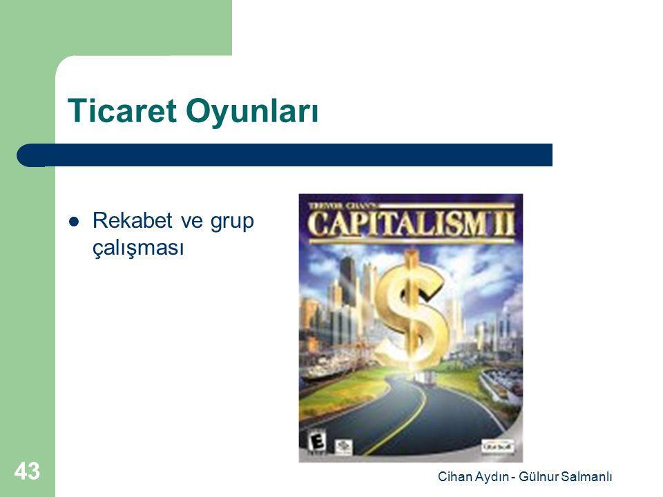 Cihan Aydın - Gülnur Salmanlı 43 Ticaret Oyunları Rekabet ve grup çalışması