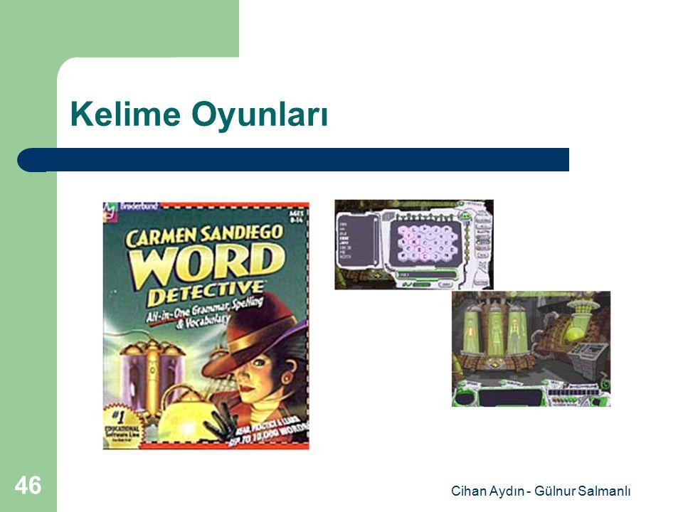 Cihan Aydın - Gülnur Salmanlı 46 Kelime Oyunları