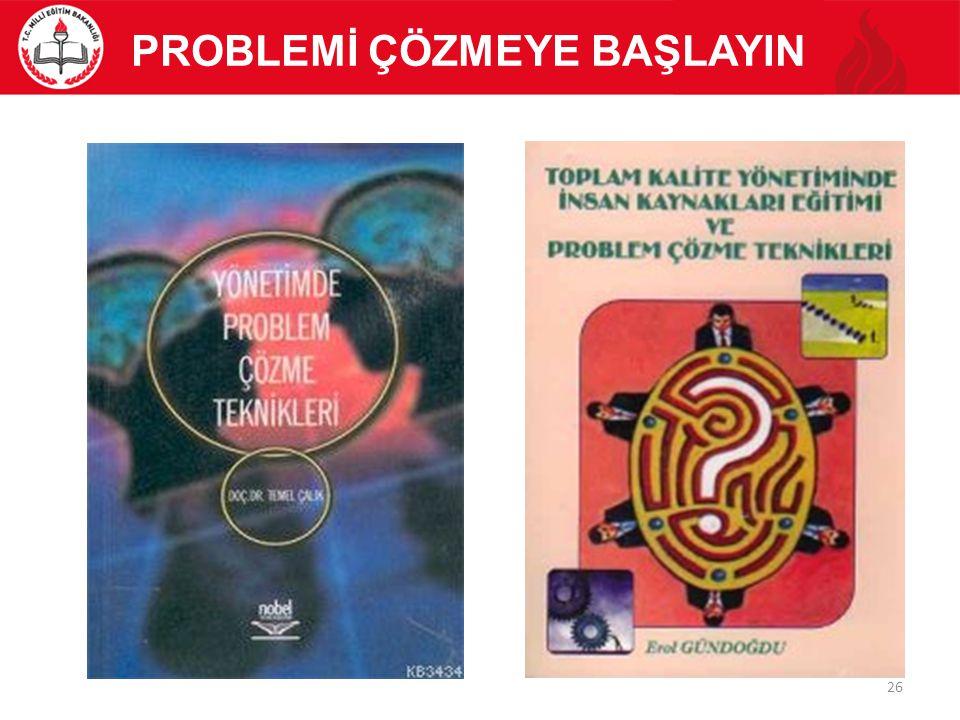 PROBLEMİ ÇÖZMEYE BAŞLAYIN 26
