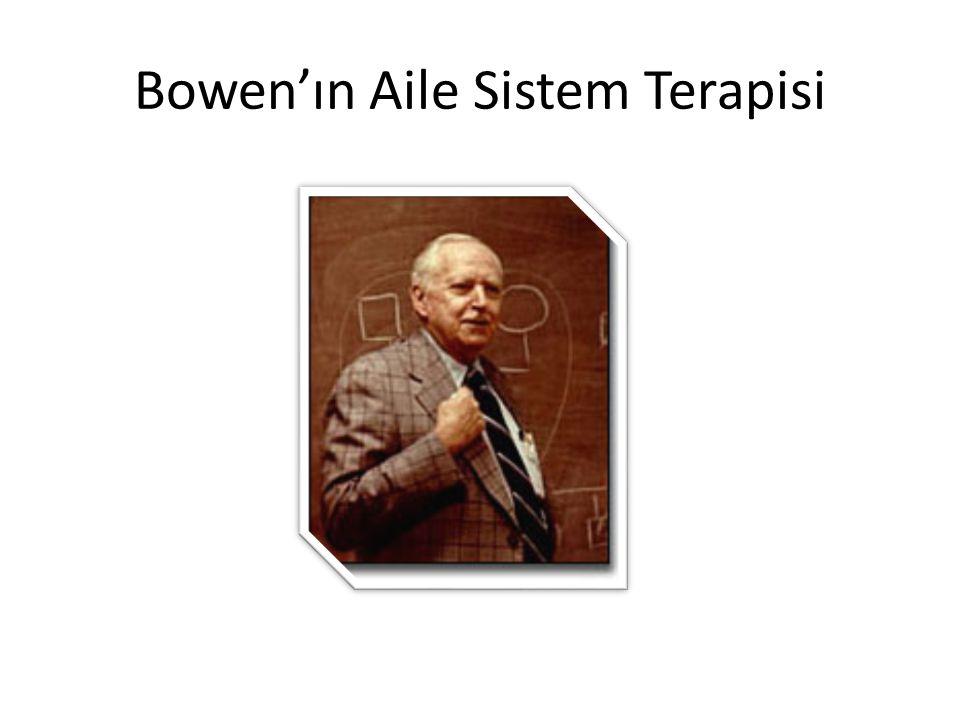Bowen'ın Aile Sistem Terapisi