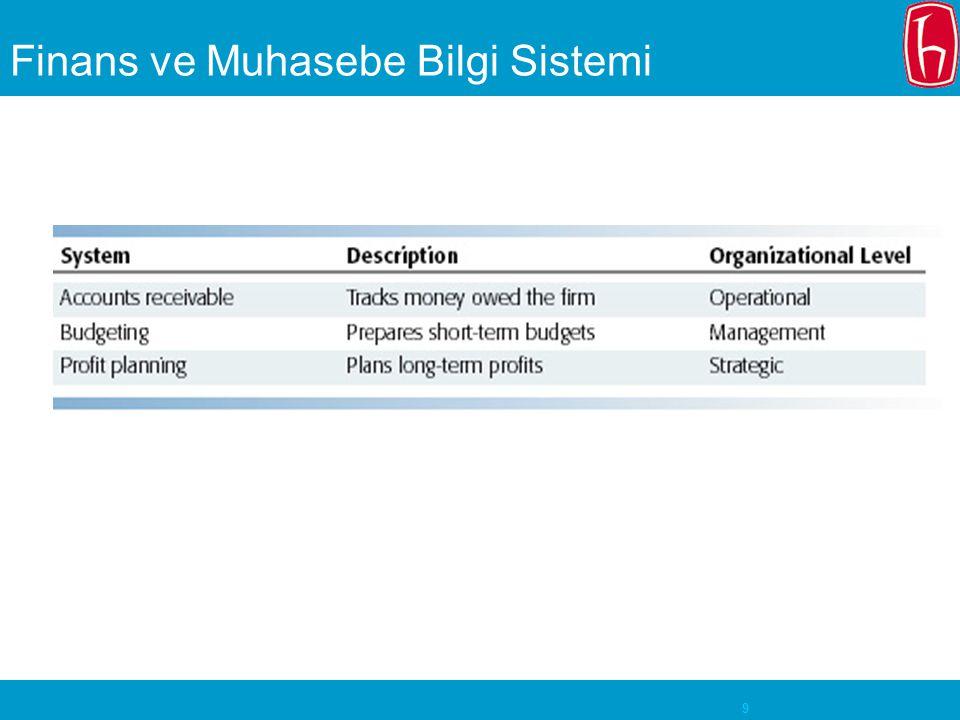 9 Finans ve Muhasebe Bilgi Sistemi