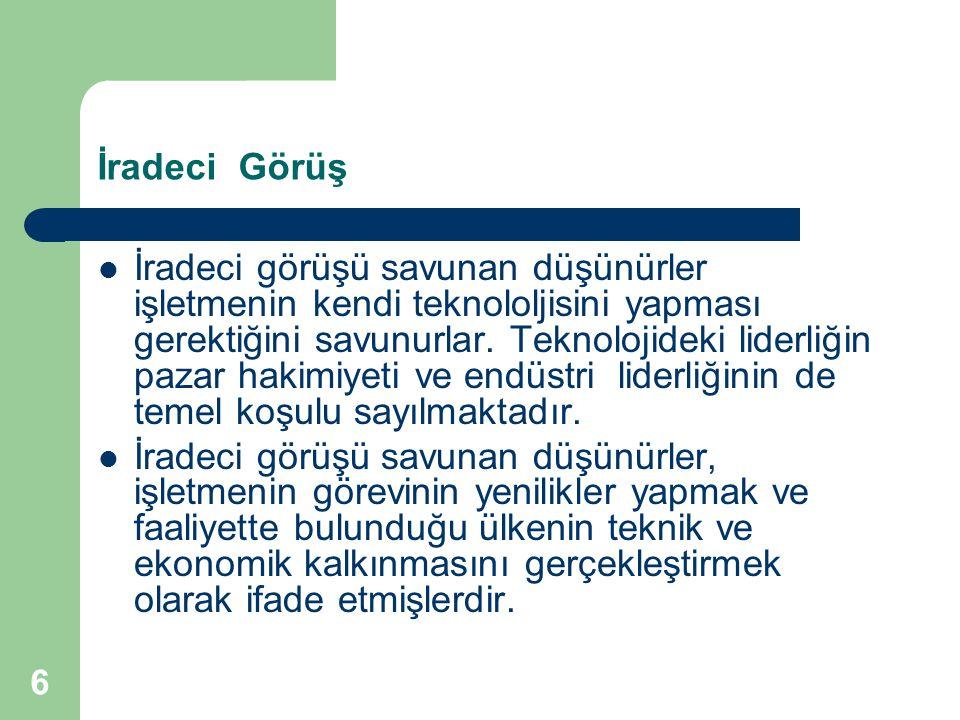 47 YÖNEYLEM ARAŞTIRMASININ ÖZELLİKLERİ 1.