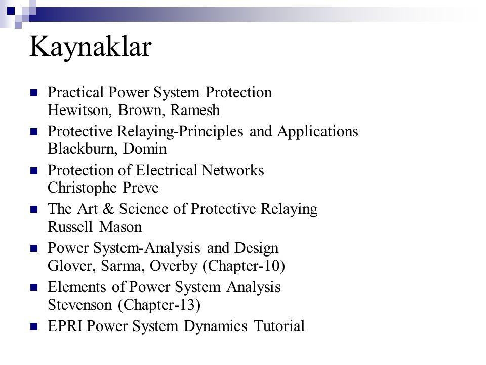 380 kV Baz Empedansı=(380 kV) 2 /250 MVA=577,6 ohm 380 kV Bazda Gerçek Empedans=0,1203x577,6=69,49 ohm