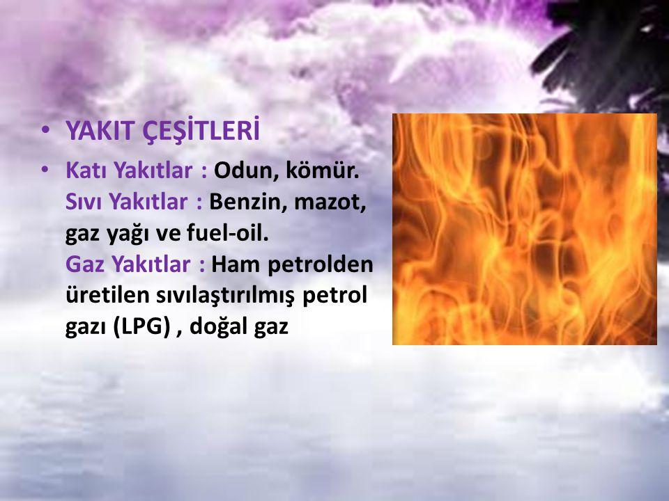 ISI VE SICAKLIK ISI : Isı bir enerjidir.Diğer enerjilere dönüşebilir.