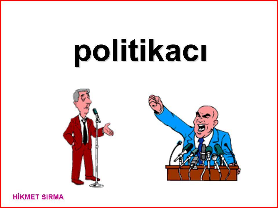 politikacı