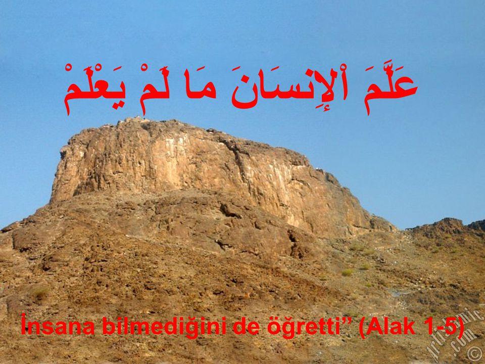 اقْرَأْ Oku بِاسْمِ رَبِّكَ الَّذِى خَلَقَ Yaratan Rabbin adına