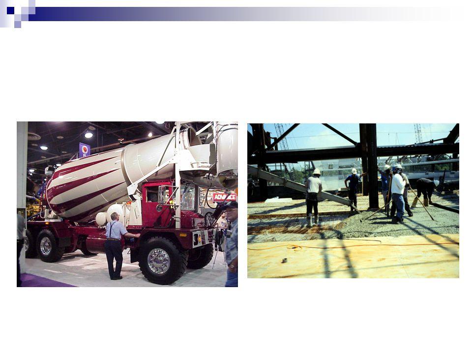 Birim Ağırlık Taze betonun birim ağırlığı normal ağırlıklı betonlar için 2200-2450 kg/m3 değerindedir.