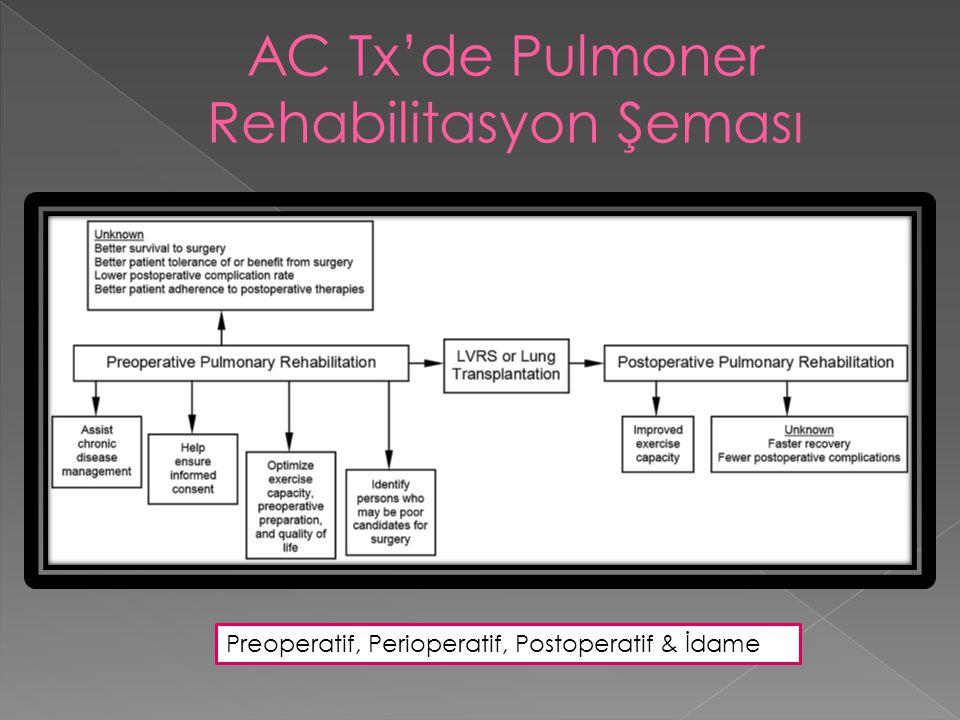 Preoperatif, Perioperatif, Postoperatif & İdame