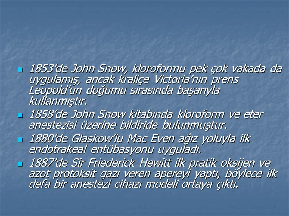 Türkiye'de Anesteziyoloji Bilim Dalının Kurucusu Prof.