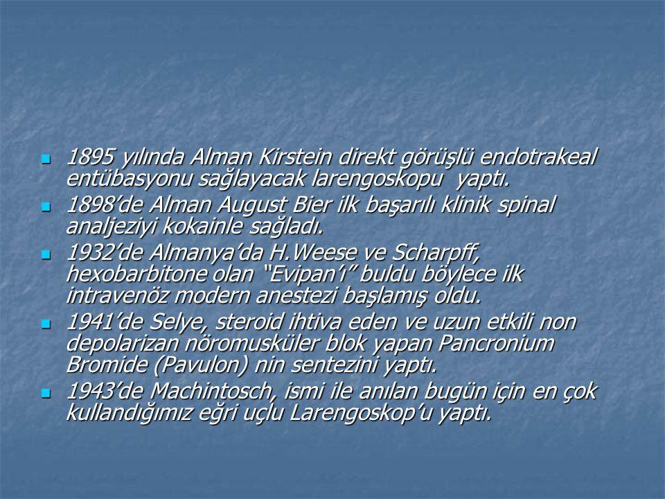 Birol Ali Esat:Gülhane Kadın Doğum Kliniğinde Evpan Sodik ile neticeler.Dirim,sayı:9,sayfa:257-260(1936) Birol Ali Esat:Gülhane Kadın Doğum Kliniğinde Evpan Sodik ile neticeler.Dirim,sayı:9,sayfa:257-260(1936) Onur Asım:Modern narkozlar.Dirim,cilt:11,sayı:2,sayfa:29-33(1936) Onur Asım:Modern narkozlar.Dirim,cilt:11,sayı:2,sayfa:29-33(1936) Şakar Arif Şakir:narkoz başlangıcında analjezi devrinin mahiyeti ve pratikte ehemmiyeti.Dirim,cilt:14,sayı:1,sayfa:5-7(1939) Şakar Arif Şakir:narkoz başlangıcında analjezi devrinin mahiyeti ve pratikte ehemmiyeti.Dirim,cilt:14,sayı:1,sayfa:5-7(1939) Erdik Süreyya ve Kavur Ekrem Şadi:Askeri Sıhhiye Dergisi.cilt:39,sayı:32,sayfa:8-16(1940) Erdik Süreyya ve Kavur Ekrem Şadi:Askeri Sıhhiye Dergisi.cilt:39,sayı:32,sayfa:8-16(1940) Maktav Tarık:Dolantin ile ağrısız doğum.Dirim,1- 2(1943) Maktav Tarık:Dolantin ile ağrısız doğum.Dirim,1- 2(1943)