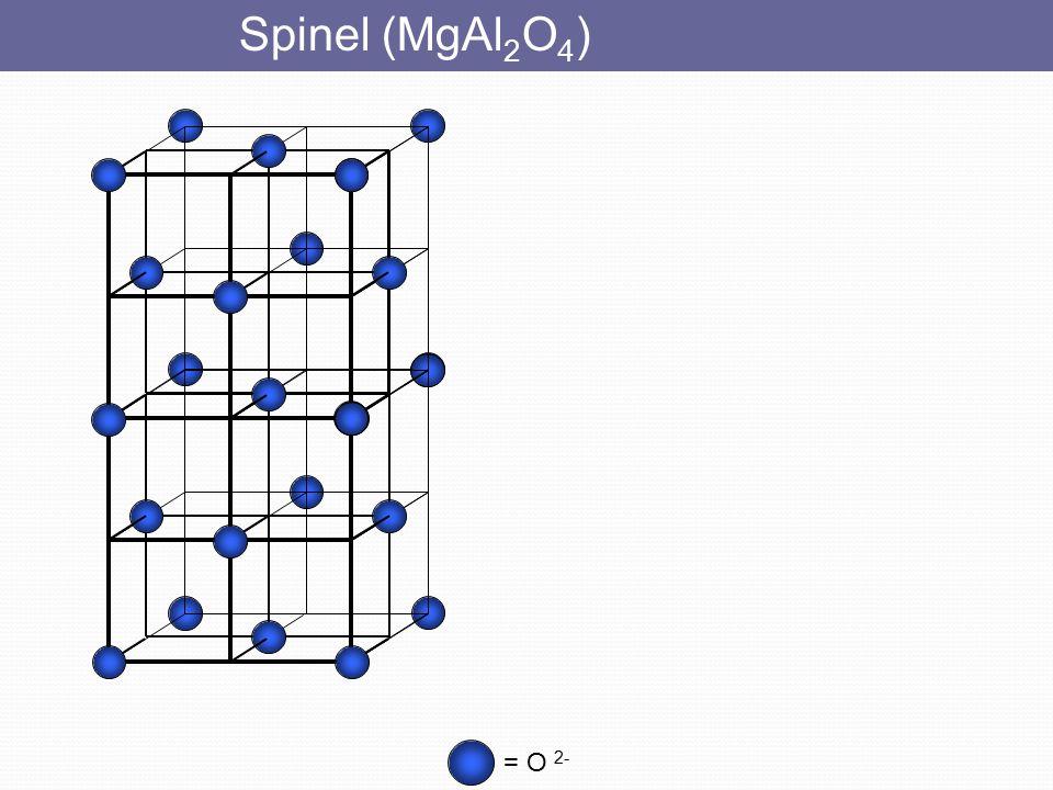Kristobalit (SiO 2 ) = Si = O