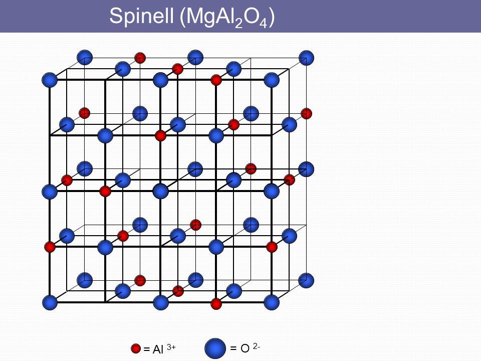 Sodyum klorür = Cl - KAYA TUZU  Cl anyonları yüzey merkezli kübik örgüyü (ymk veya fcc) oluşturur.