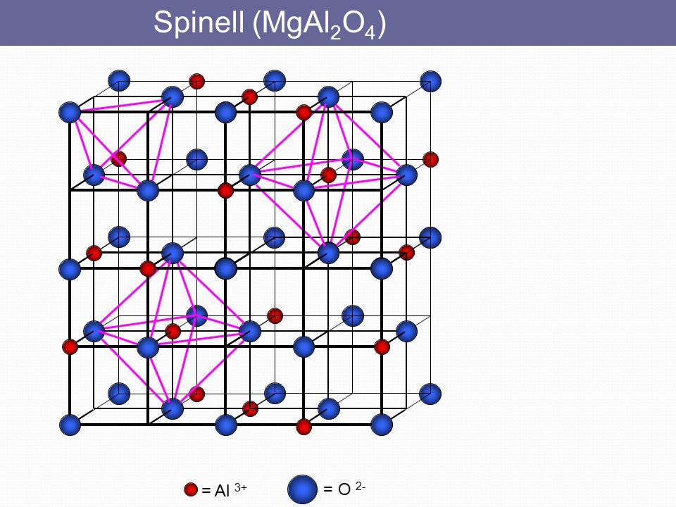 = S 2 - = Zn 2+ Çinkoblend Her iyon 4 komşu ile çevrilidir, yani (4,4) koordinasyonludur.