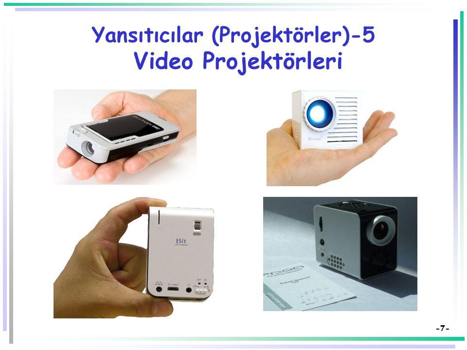 -6- Yansıtıcılar (Projektörler)-5