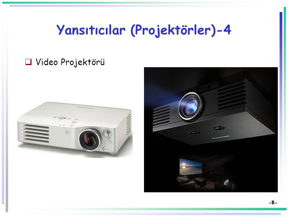 -4- Yansıtıcılar (Projektörler)-3  Slayt Projektörü