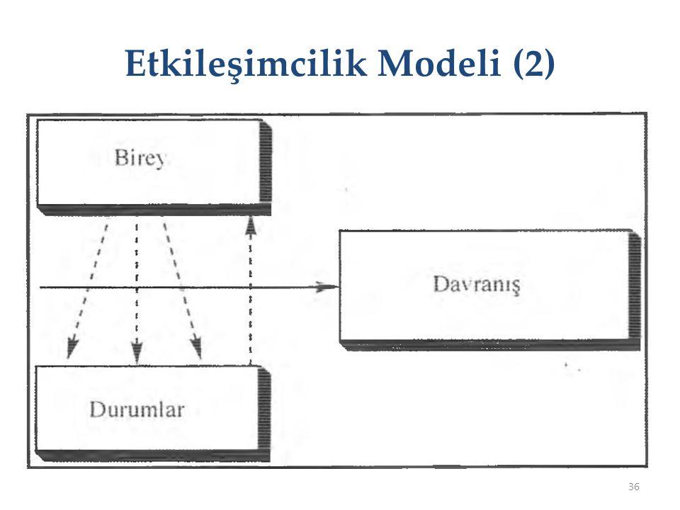 Etkileşimcilik Modeli (2) 36