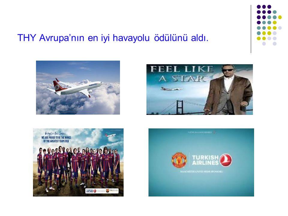 THY Avrupa'nın en iyi havayolu ödülünü aldı.