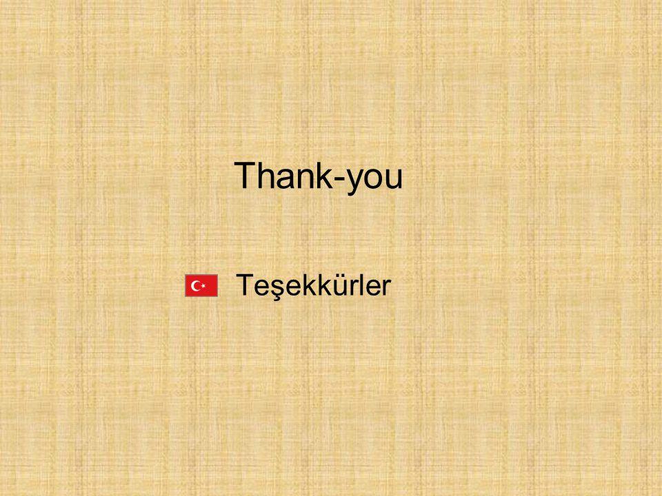 Teşekkürler Thank-you