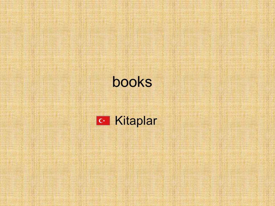 Kitaplar books