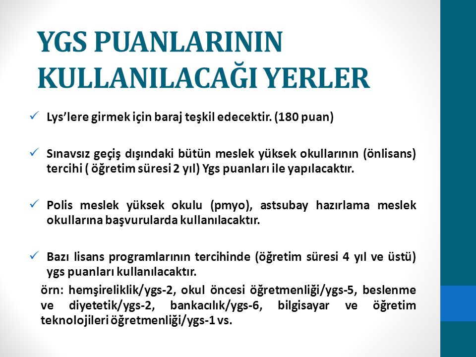 YGS-6 PUAN TÜRÜYLE ÖĞRENCİ ALAN LİSANS (4 YILLIK) BÖLÜMLER BÖLÜMPUAN TÜRÜ BANKACILIK (Yüksekokul)YGS-6 BANKACILIK ve FİNANS (Yüksekokul)YGS-6 BANKACILIK ve FİNANSMAN (Yüksekokul) YGS-6 BANKACILIK ve SİGORTACILIK (Yüksekokul)YGS-6 DENİZCİLİK İŞLETMELERİ YÖNETİMİ (Yüksekokul)YGS-6 GAYRİMENKUL ve VARLIK DEĞERLEME (Yüksekokul) YGS-6 GÜMRÜK İŞLETME (Yüksekokul)YGS-6 İNSAN KAYNAKLARI YÖNETİMİ (Yüksekokul)YGS-6 İŞLETME BİLGİ YÖNETİMİ (Yüksekokul)YGS-6 KONAKLAMA İŞLETMECİLİĞİ (Yüksekokul)YGS-6 KONAKLAMA ve TURİZM İŞLETMECİLİĞİ (Yüksekokul) YGS-6 MUHASEBE (Yüksekokul)YGS-6 MUHASEBE BİLGİ SİSTEMLERİ (Yüksekokul)YGS-6 MUHASEBE ve FİNANSAL YÖNETİM (Yüksekokul)YGS-6 OTEL YÖNETİCİLİĞİ (Yüksekokul)YGS-6 PAZARLAMA (Yüksekokul)YGS-6