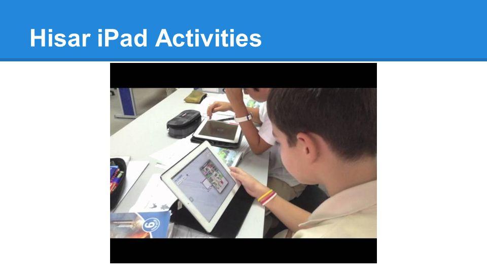 Hisar iPad Activities